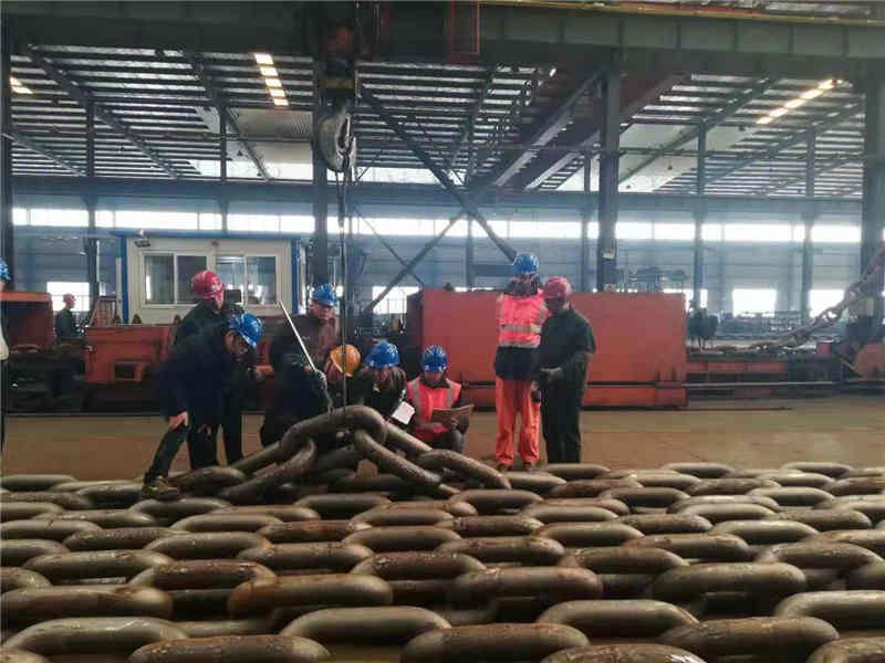 Mooring Chain Inspection