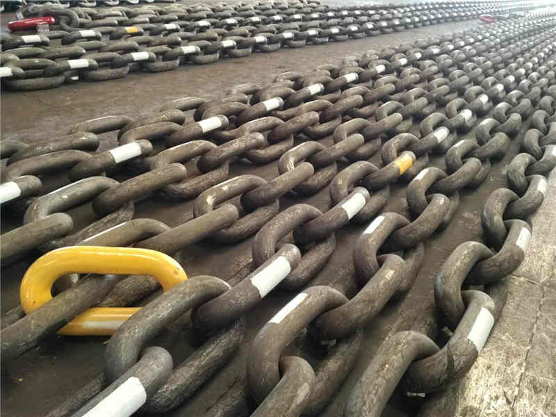 Studless Mooring Chain Identification