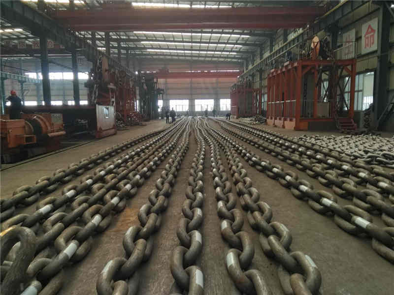 Mooring chain identification